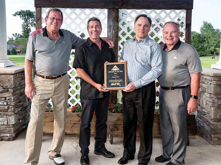 Hexion Selected as MFG's Supplier of the Year